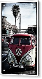Vw Classic Acrylic Print by Ron Regalado