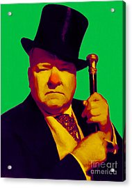 W C Fields 20130217p180 Acrylic Print by Wingsdomain Art and Photography