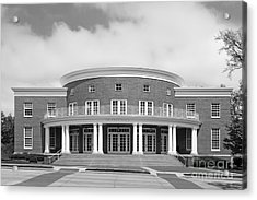Wabash College Trippet Hall Acrylic Print by University Icons