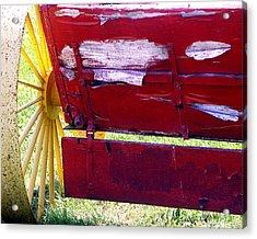 Wagon Acrylic Print by Tom Romeo