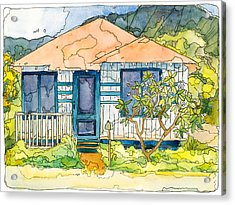 Waianae House Acrylic Print by Stacy Vosberg