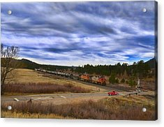 Waiting At The Gates Version 2 Acrylic Print by Ken Smith