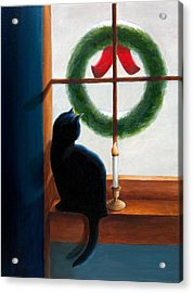 Waiting For Christmas Acrylic Print by Phillip Compton