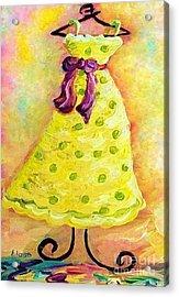 Waiting For Summer - Impressionism Acrylic Print by Eloise Schneider