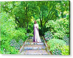 Waiting For You Acrylic Print by Susanna  Katherine