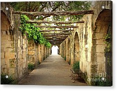 Walk To The Light Acrylic Print by Carol Groenen