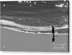 Walking With God Acrylic Print by Artist and Photographer Laura Wrede
