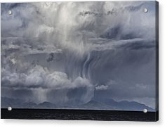 Wall Of Weather Acrylic Print by Darryl Luscombe