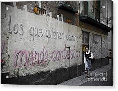 Wall Acrylic Print by Victoria Herrera