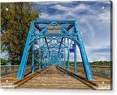 Walnut Street Bridge - 1890 - Chattanooga Acrylic Print by Frank J Benz
