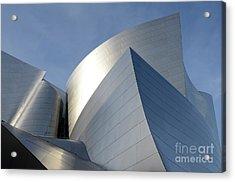 Walt Disney Concert Hall 14 Acrylic Print by Bob Christopher