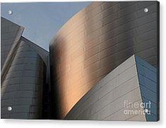 Walt Disney Concert Hall 15 Acrylic Print by Bob Christopher