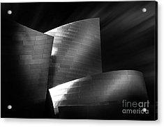 Walt Disney Concert Hall 3 Acrylic Print by Az Jackson