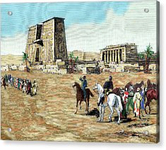 War In Egypt The Emissaries Of Arabi Acrylic Print by Prisma Archivo