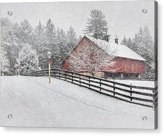 Warmest Holiday Wishes Acrylic Print by Lori Deiter