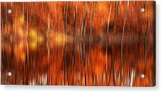 Warmth Impression Acrylic Print by Lourry Legarde