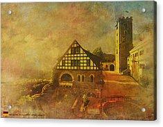 Wartburg Castle Acrylic Print by Catf