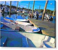 Warwick Marina Acrylic Print by Lourry Legarde