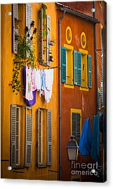Wash Day Acrylic Print by Inge Johnsson