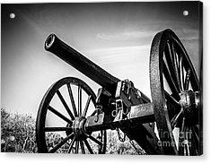 Washington Artillery Park Cannon In New Orleans Acrylic Print by Paul Velgos