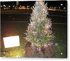 Washington Dc - Christmas At The Ellipse - 12125 Acrylic Print by DC Photographer
