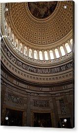 Washington Dc - Us Capitol - 01139 Acrylic Print by DC Photographer