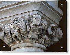 Washington National Cathedral - Washington Dc - 011310 Acrylic Print by DC Photographer