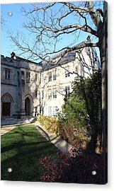 Washington National Cathedral - Washington Dc - 0113122 Acrylic Print by DC Photographer
