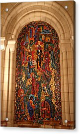Washington National Cathedral - Washington Dc - 011338 Acrylic Print by DC Photographer