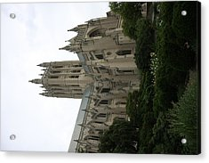 Washington National Cathedral - Washington Dc - 011350 Acrylic Print by DC Photographer