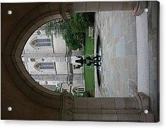 Washington National Cathedral - Washington Dc - 011359 Acrylic Print by DC Photographer