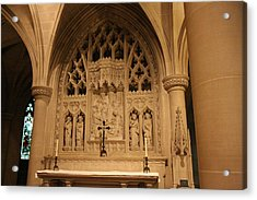 Washington National Cathedral - Washington Dc - 011373 Acrylic Print by DC Photographer