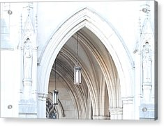 Washington National Cathedral - Washington Dc - 01138 Acrylic Print by DC Photographer
