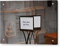 Washington National Cathedral - Washington Dc - 011396 Acrylic Print by DC Photographer
