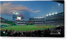 Washington Nationals In Our Nations Capitol Acrylic Print by Thomas Marchessault