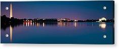 Washington Skyline Acrylic Print by Sebastian Musial