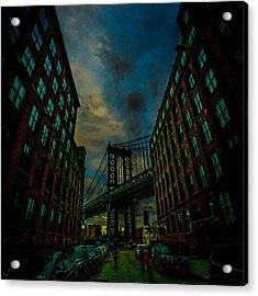 Washington Street Acrylic Print by Chris Lord