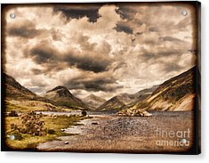 Wast Water Lake District England Acrylic Print by Colin and Linda McKie