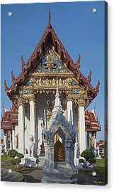 Wat Amarintaram Ubosot Dthb1507 Acrylic Print by Gerry Gantt