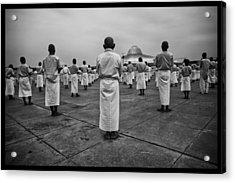 Wat Dhamma 2 Acrylic Print by David Longstreath