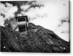 Watch Tower Acrylic Print by Ryan Wyckoff
