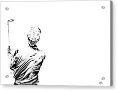 Watching And Hoping Acrylic Print by Karol Livote
