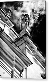 Watching Over Fatima Acrylic Print by John Rizzuto