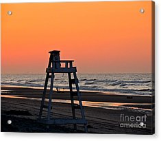 Watching Over You Acrylic Print by Eve Spring