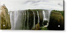 Water Falling Into A River, Victoria Acrylic Print by Panoramic Images