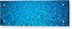 Water Swimming Pool Mexico Acrylic Print by Panoramic Images