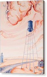 Water Tank II Acrylic Print by Scott Kirby