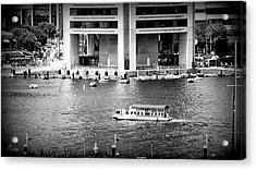 Water Taxi Acrylic Print by Toni Martsoukos