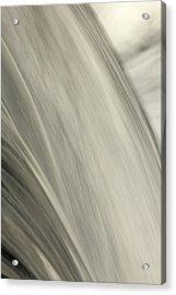 Waterfall Abstract Acrylic Print by Karol Livote