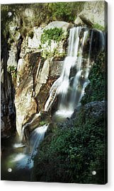 Waterfall I Acrylic Print by Marco Oliveira